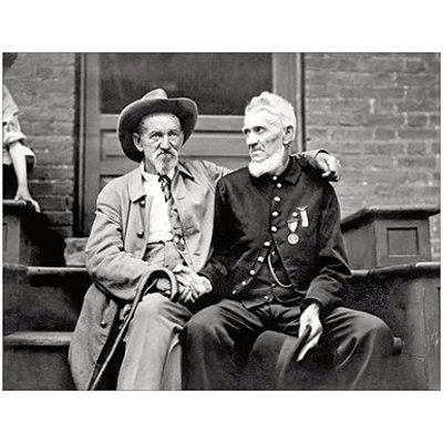 1938 Gettysburg Blue and Gray Reunion photo print