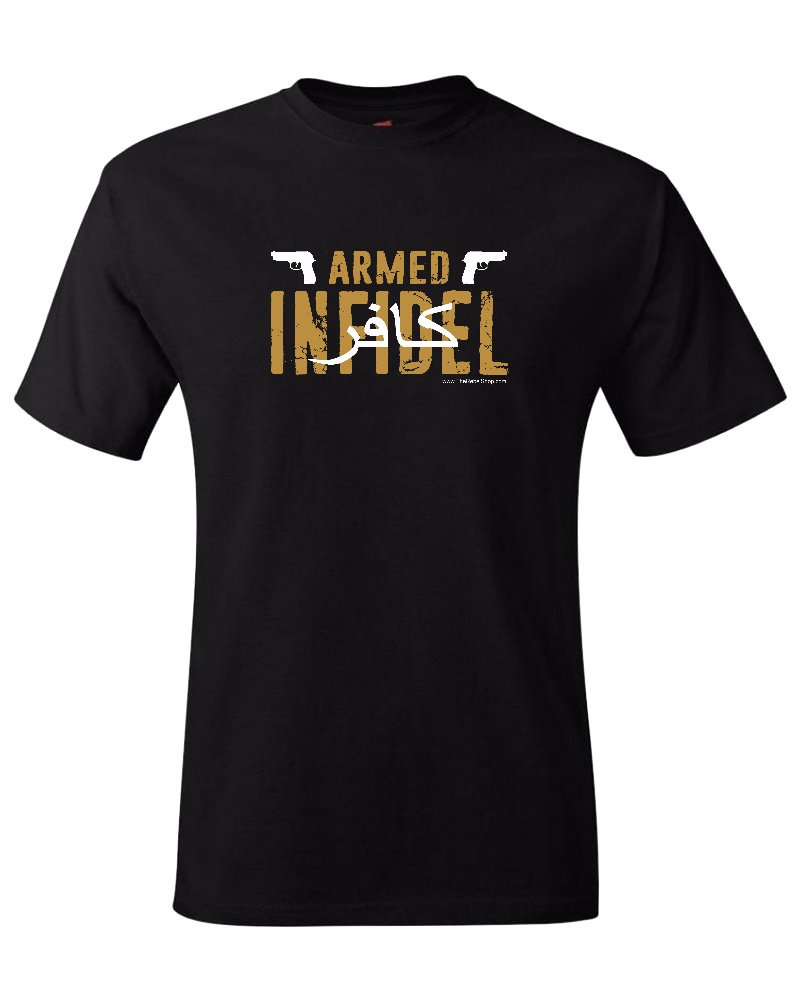 Armed Infidel (Second Amendment) t-shirt