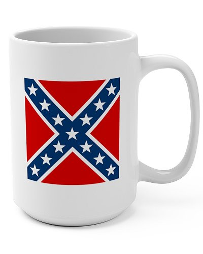 Army of Northern Virginia Battle Flag coffee mug