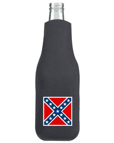 Army of Northern Virginia Battle Flag zippered bottle cooler