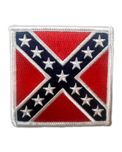 Army of Northern Virginia Battle Flag iron-on embroidered patch