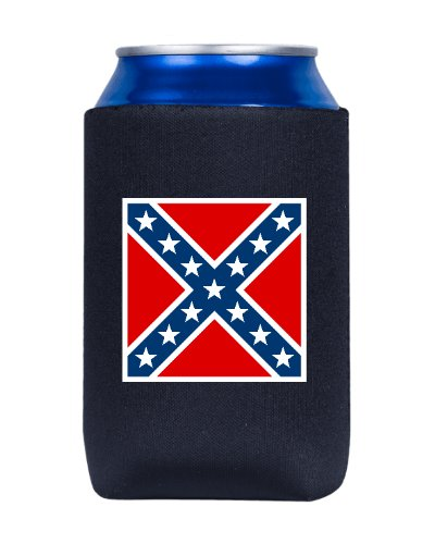 Confederate Army of Northern Virginia Battle Flag can cooler