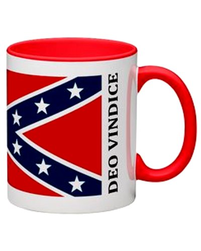 Army of Tennessee Battle Flag Deo Vindice mug