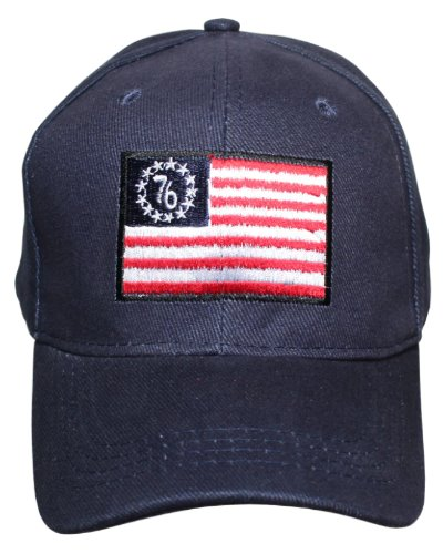 Betsy Ross '76 Flag embroidered cap