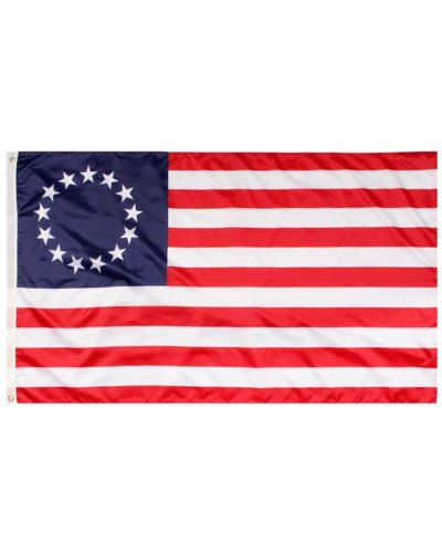 Betsy Ross 3'x5' printed polyester flag