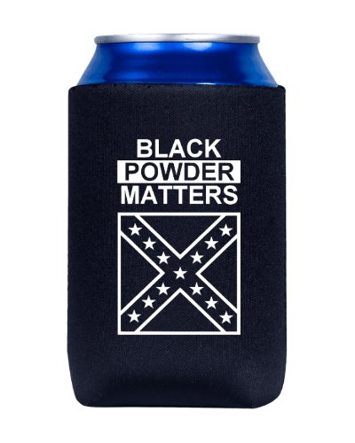 Black Powder Matters can cooler