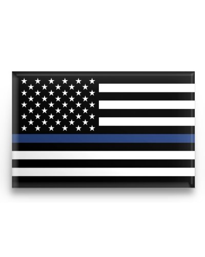 Blue Lives Matter button