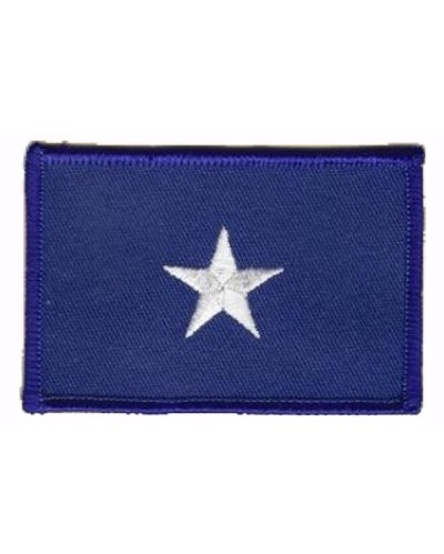 Bonnie Blue Flag iron-on embroidered patch