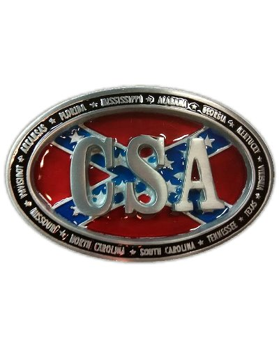 CSA (Southern States) oval belt buckle