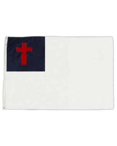 Christian printed polyester flag