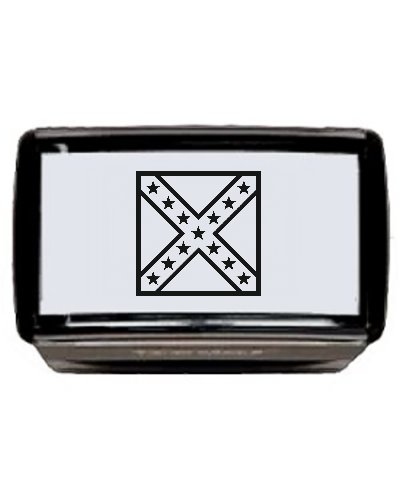 Confederate Battle Flag (Army of No. Virginia) self-inking stamp