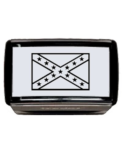 Confederate Battle Flag (Army of Tennessee) self-inking stamp