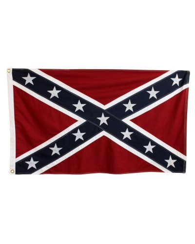Confederate Battle (Army of Tennessee) sewn cotton flag