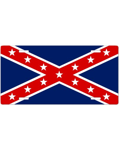 Confederate Army of the Trans-Mississippi no fade car tag