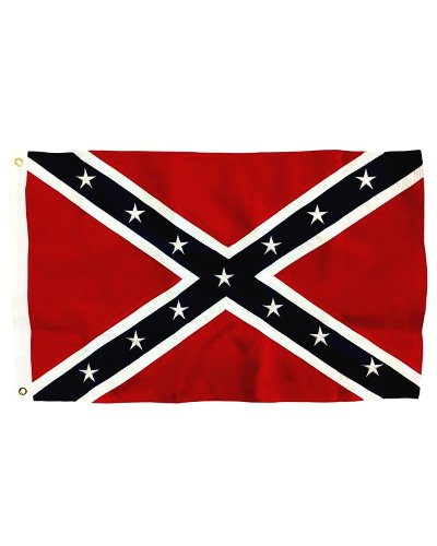 Confederate Battle (Army of Tennessee) sewn polyester flag