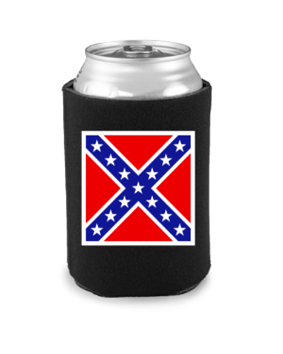 Confederate Army of No. Va. Battle Flag can cooler (koozie)