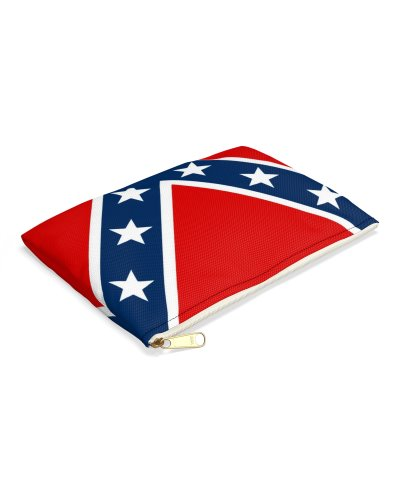Confederate Battle Flag zippered pouch