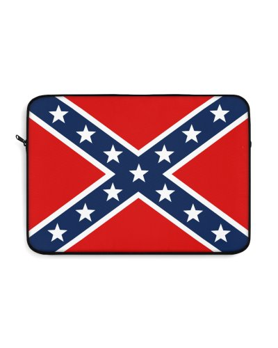 Confederate Battle Flag laptop sleeve