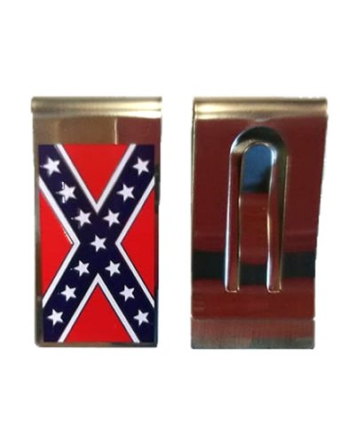 Confederate Army of Tennessee Battle Flag money clip