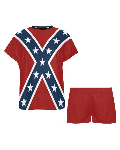 Confederate Battle Flag ladies pajama set