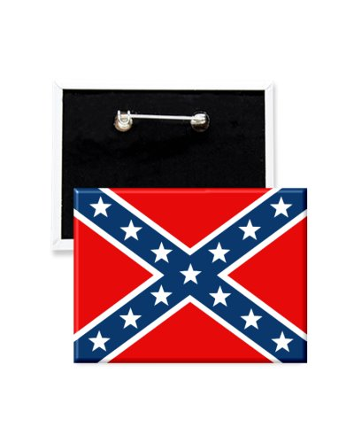 Army of Tennessee Battle Flag button