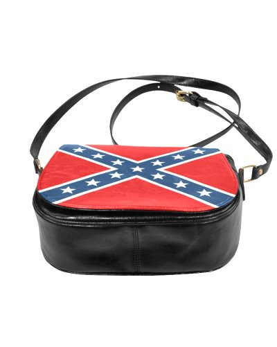 Confederate Battle Flag saddle bag purse