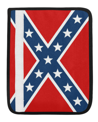 Confederate Battle Flag seat belt cover