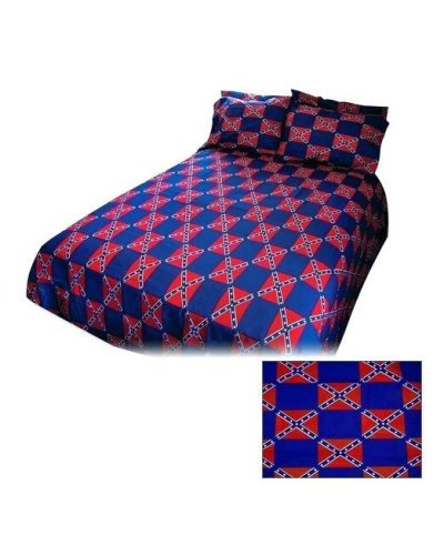 Confederate Battle Flag sheet set