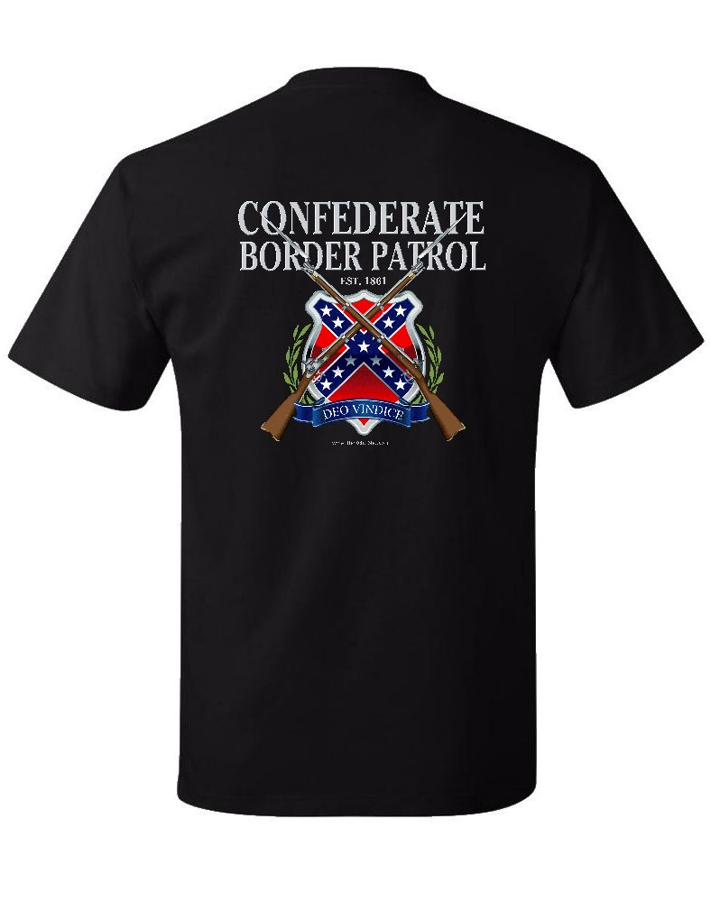Confederate Border Patrol t-shirt