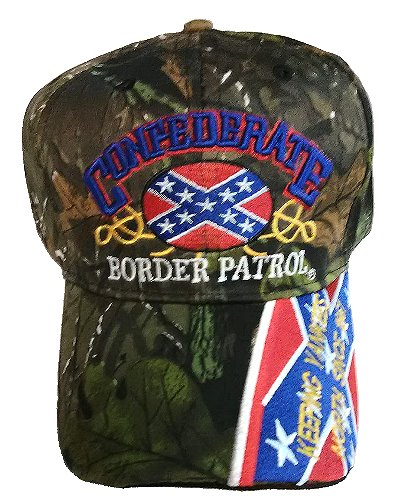 Confederate Border Patrol embroidered cap