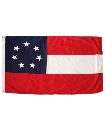 Confederate First National 7 Stars printed polyester flag