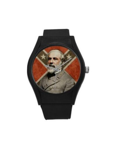 Confederate Heroes: Robert E. Lee plastic band wrist watch