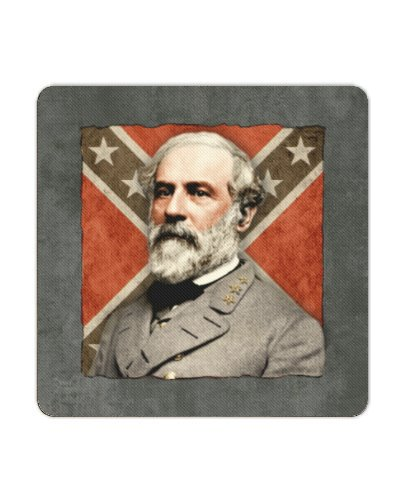 Confederate Leaders premium coasters