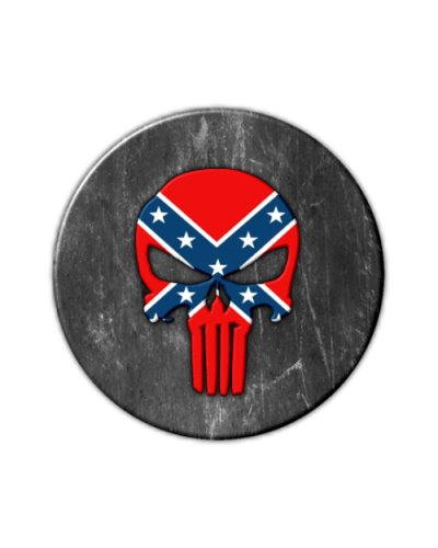 Confederate Punisher refrigerator magnet