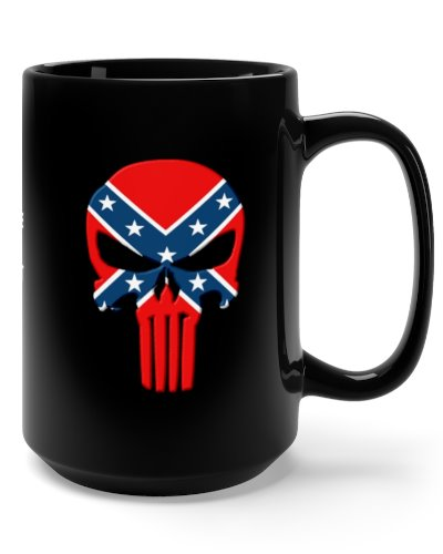 Confederate Punisher coffee mug