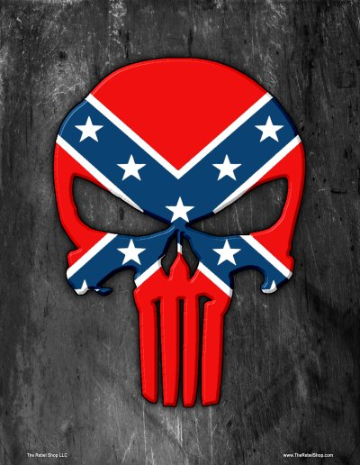 Confederate Punisher poster