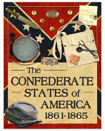 Confederate States of America postcard magnet
