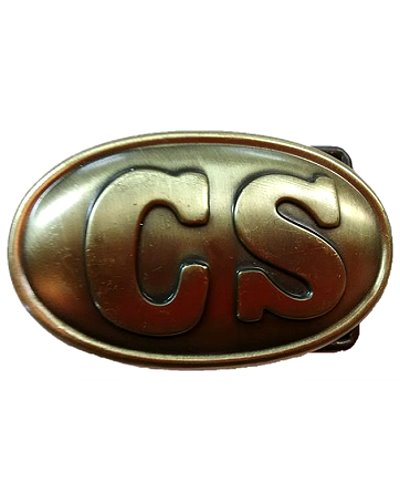 Confederate States Army of Tennessee replica belt buckle