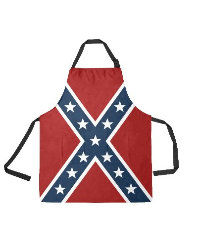 Confederate Battle Flag apron