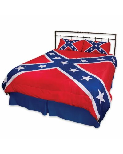Confederate Battle Flag comforter