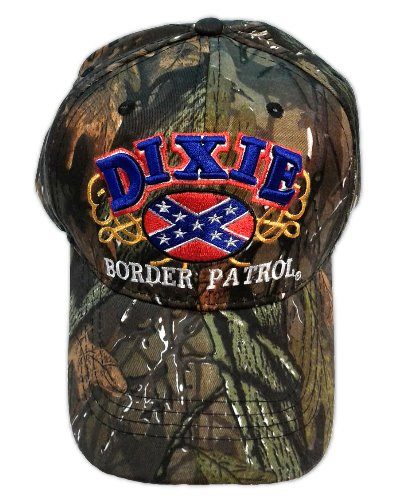 Dixie Border Patrol embroidered cap