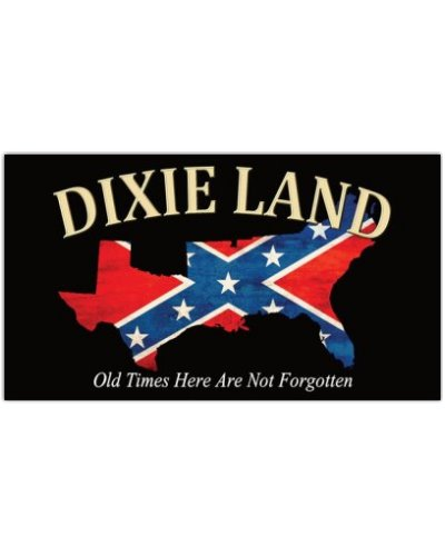 Dixie Land Old Times Here Are Not Forgotten mini magnet