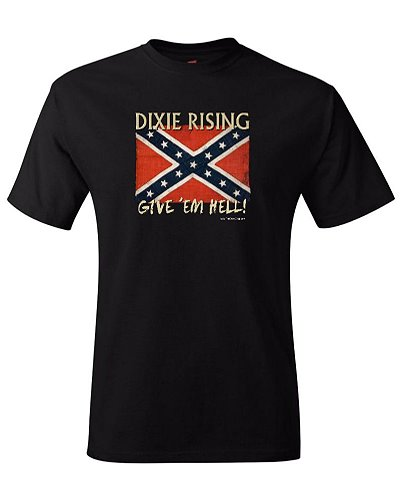 Dixie Rising: Give Em Hell t-shirt