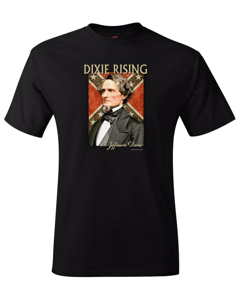 Dixie Rising: Jefferson Davis t-shirt