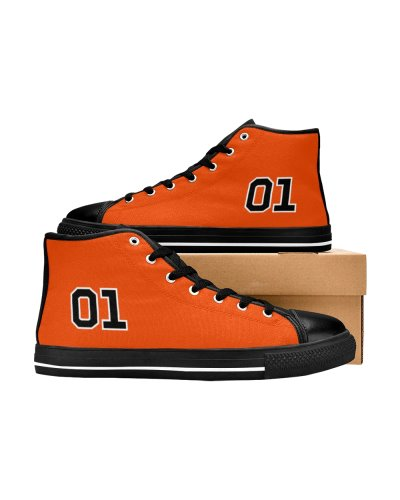 Dukes of Hazzard 01 canvas high top sneakers