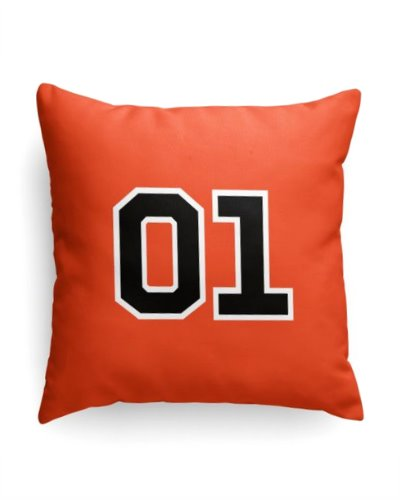 Dukes of Hazzard 01 throw pillow