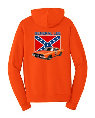 Dukes of Hazzard General Lee 01 cotton hoodie