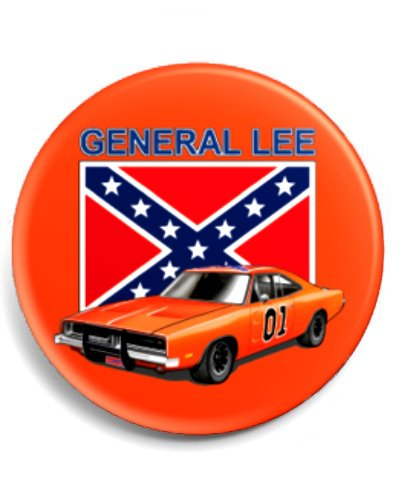 Dukes of Hazzard General Lee button