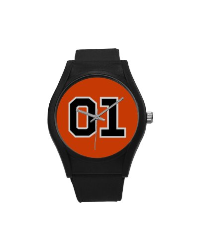 Dukes of Hazzard General Lee 01 plastic band wrist watch