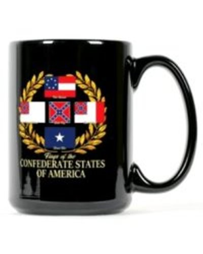 Flags of the Confederate States of America coffee mug